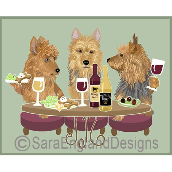Australian Terrier 3 Dogs Prints