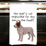 Australian Cattle Dog Kitchen Tea Towel