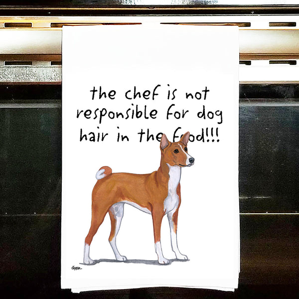 Basenji Kitchen Tea Towel