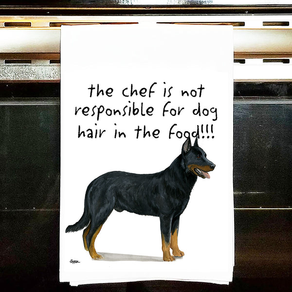 Beauceron Kitchen Tea Towel