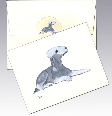 Bedlington Terrier 8 Pack Notecards