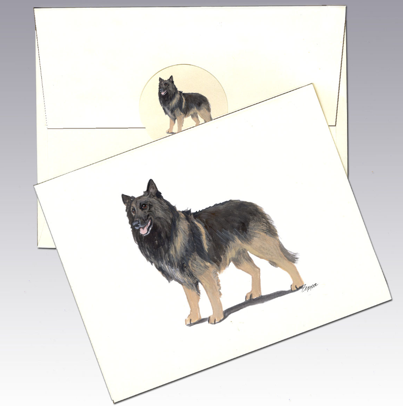 Belgian Tervuren 8 Pack Notecards