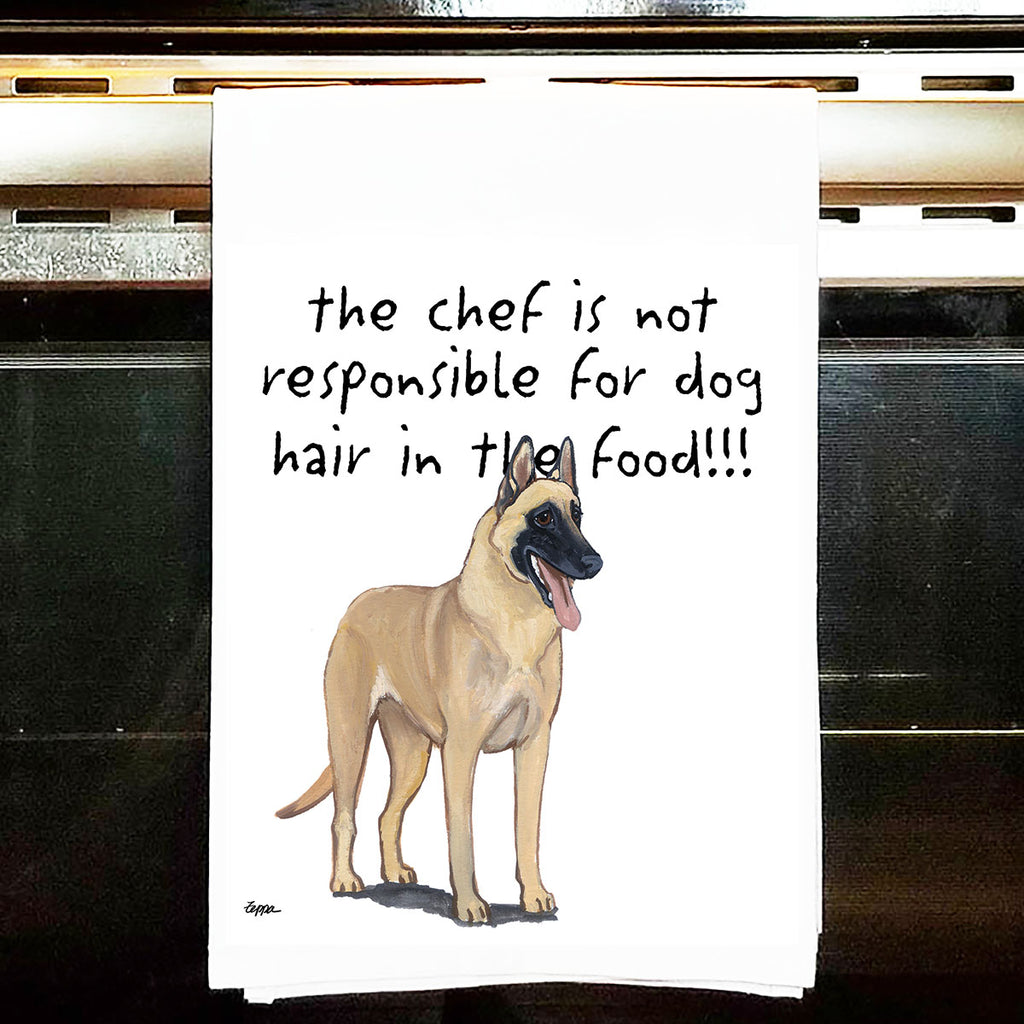 Belgian Malinois Kitchen Tea Towel