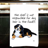 Bernese Mountain Dog Kitchen Tea Towel