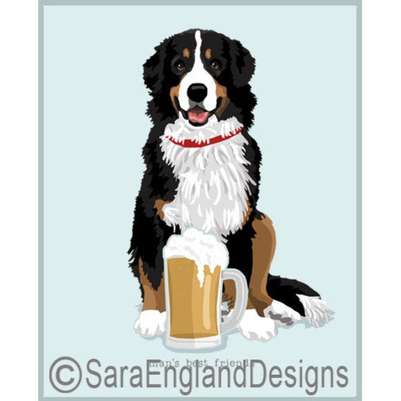 Bernese Mountain Dog Best Friends Prints