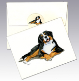 Bernese Mountain Dog 8 Pack Notecards