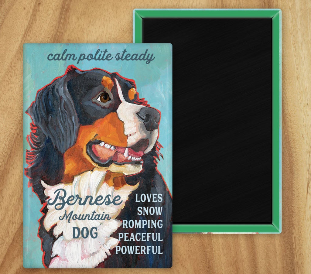 Bernese Mountain Dog 2 x 3 Fridge Magnet