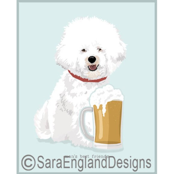 Bichon Best Friends Prints