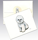 Bichon Frise 8 Pack Notecards