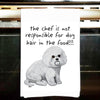 Bichon Frise Kitchen Tea Towel