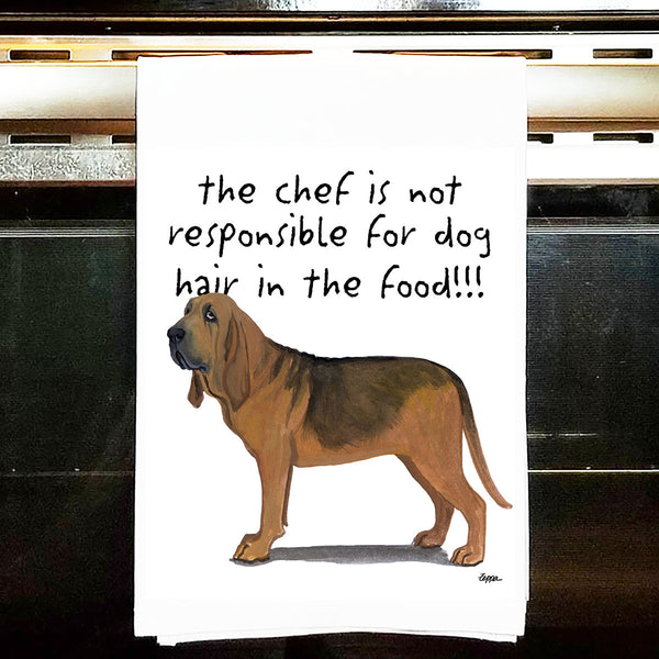 Bloodhound Kitchen Tea Towel