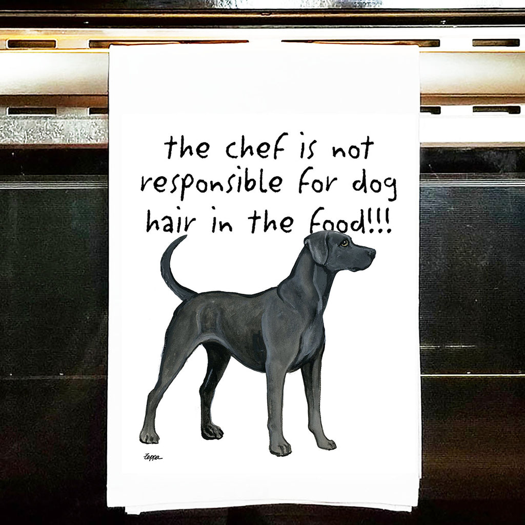 Blue Lacy Kitchen Tea Towel