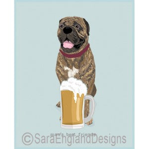 Bullmastiff Best Friends Prints