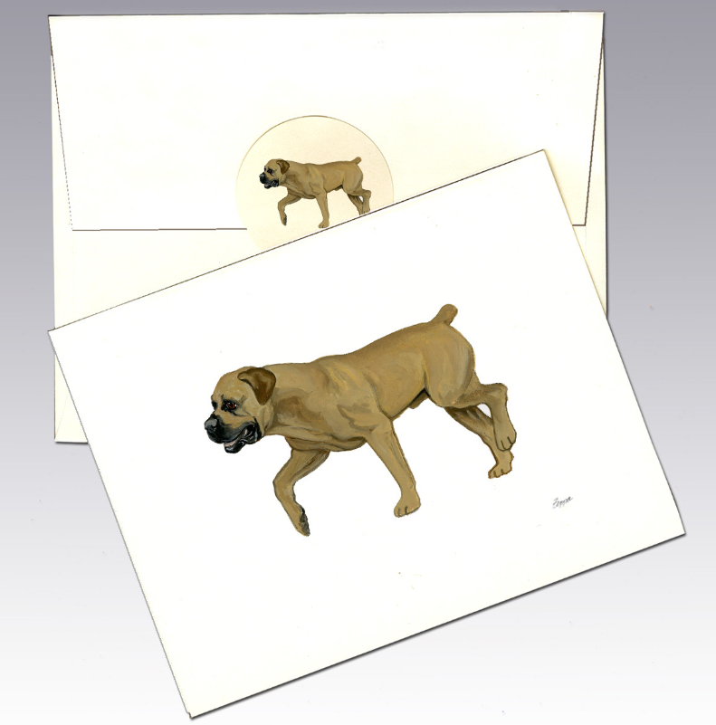 Boerboel 8 Pack Notecards