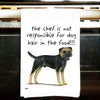 Border Terrier Kitchen Tea Towel