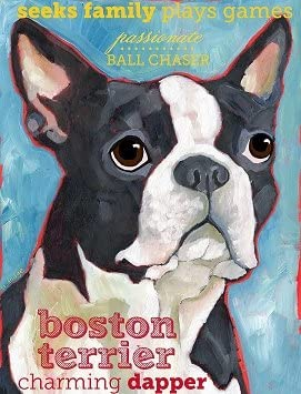 Boston Terrier 3 x 4 Sticker