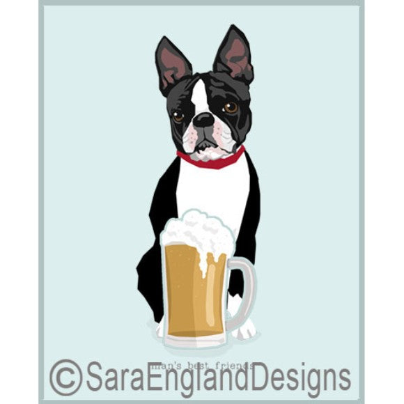 Boston Terrier Best Friends Prints
