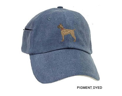 Boxer Cropped Embroidered Baseball Caps