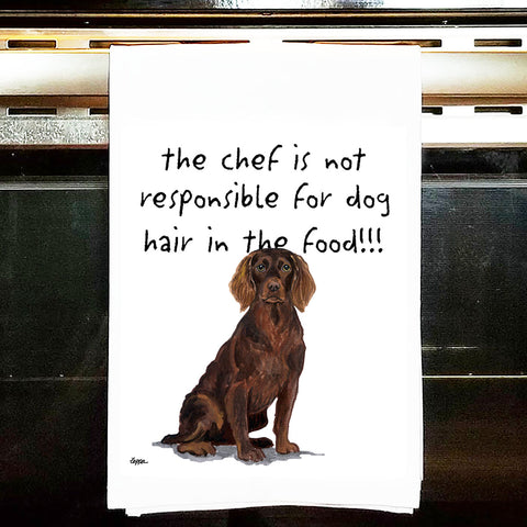 Boykin Spaniel Kitchen Tea Towel