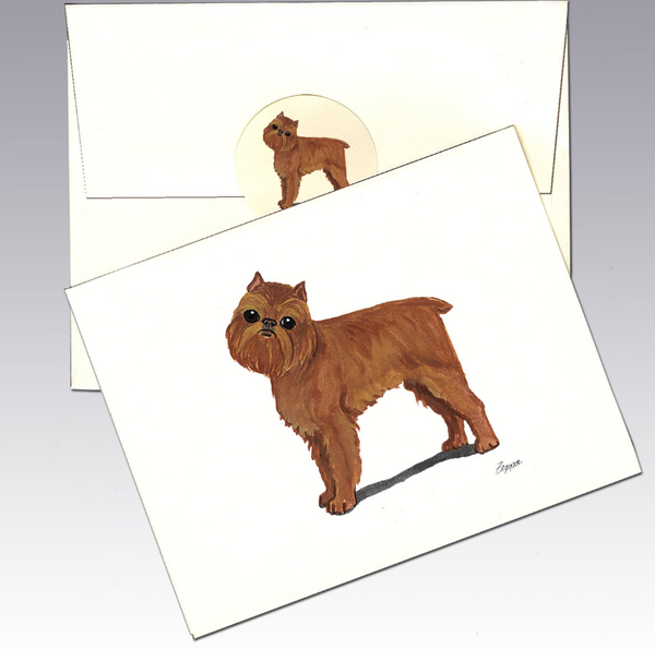 Brussels Griffon 8 Pack Notecards