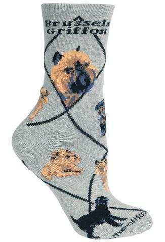 Brussels Griffon Socks