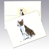 Bull Terrier 8 Pack Notecards