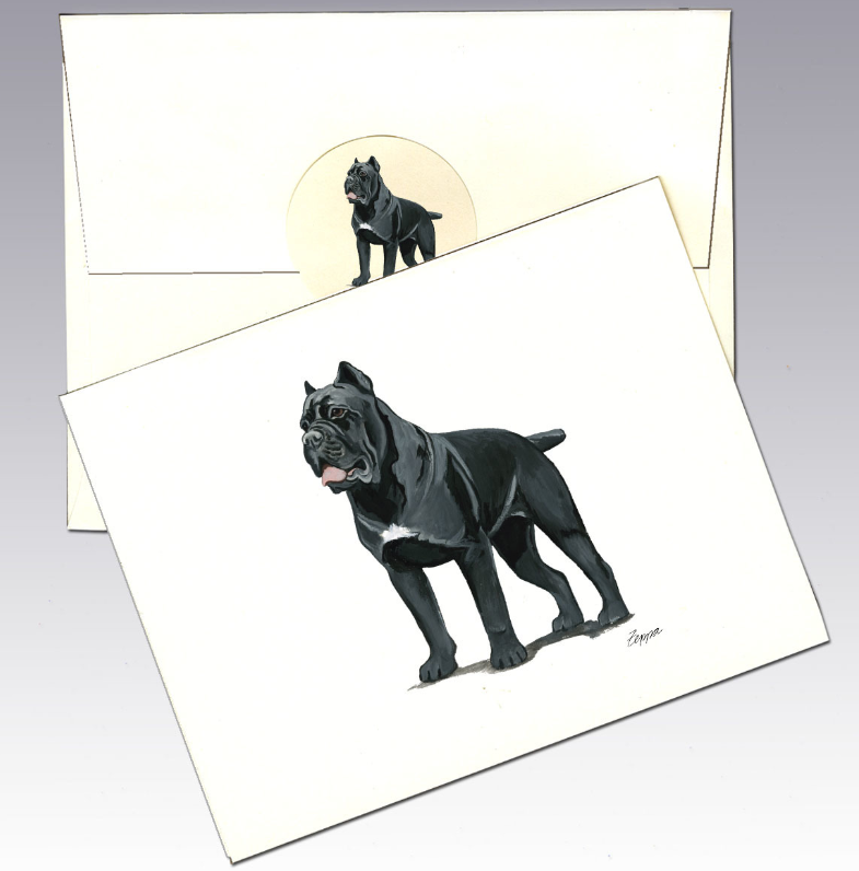 Cane Corso 8 Pack Notecards