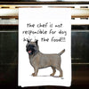 Cairn Terrier Kitchen Tea Towel