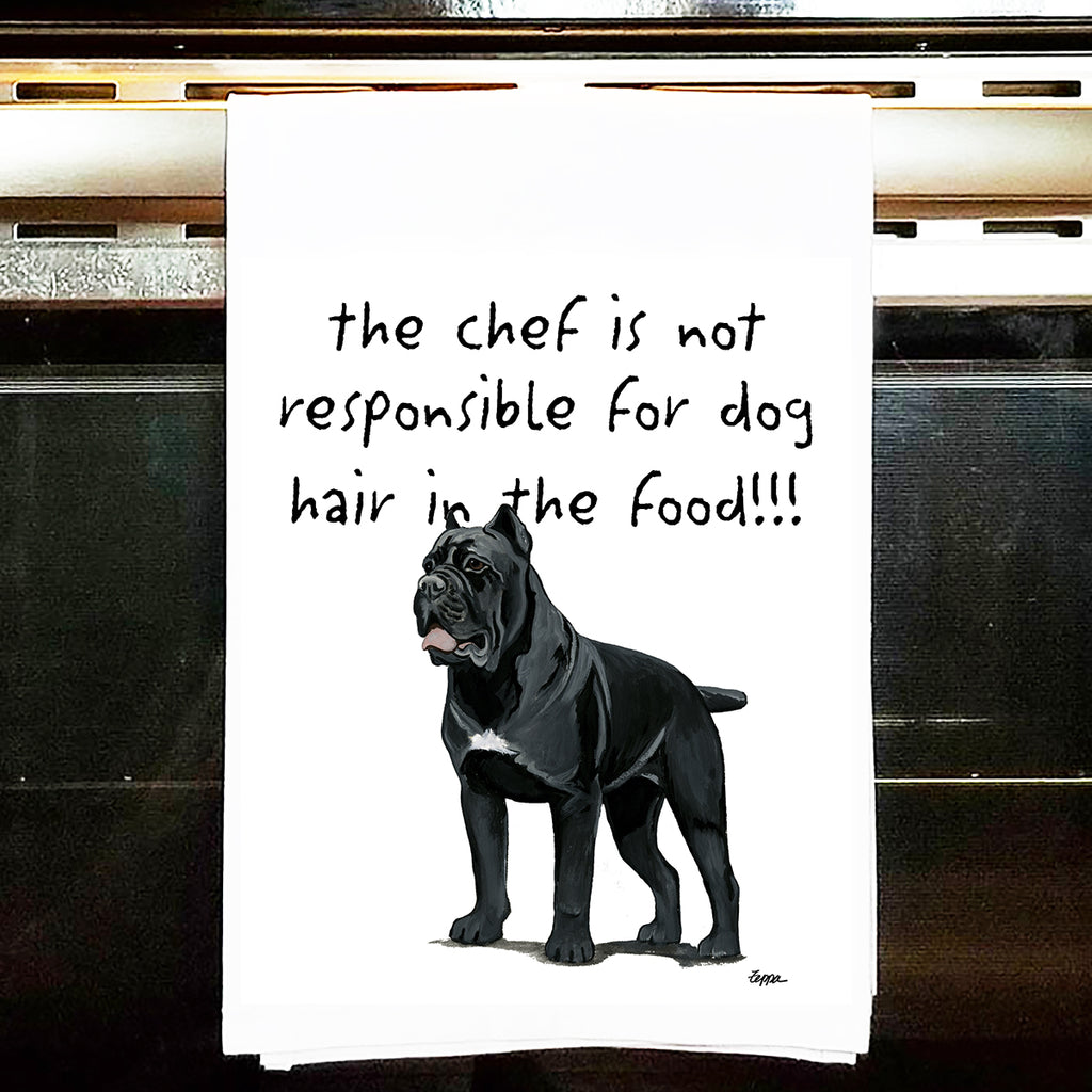 Cane Corso Kitchen Tea Towel