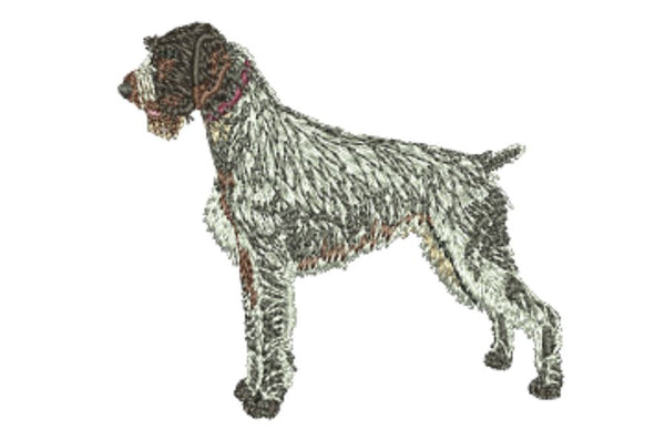 German Wirehairded Pointer Embroidered Baseball Caps
