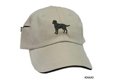 Basset Hound Embrodiered Baseball Caps