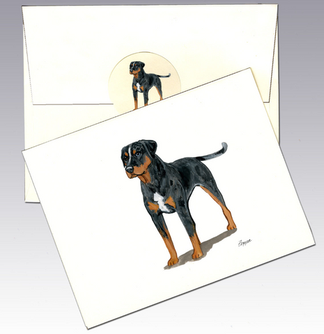 Catahoula Leopard Dog 8 Pack Notecards