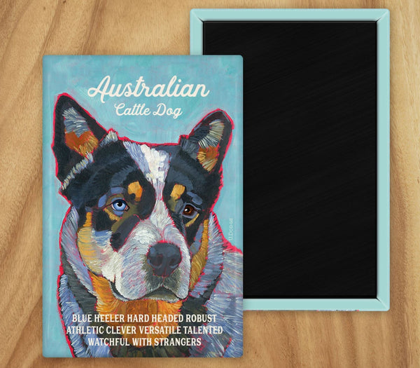 Australian Cattle Dog 2 x 3 Fridge Magnet