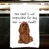 Cavalier King Charles Spaniel Kitchen Tea Towel