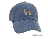 Cavalier King Charles Spaniel Blenheim Embrodiered Baseball Caps