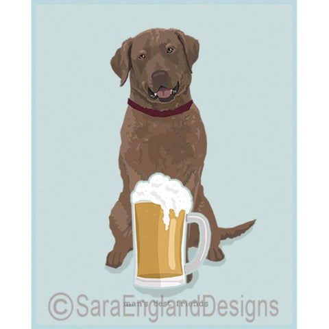 Chesapeake Bay Retriever Best Friends Prints