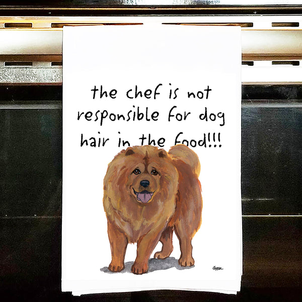 Chow Chow Kitchen Tea Towel