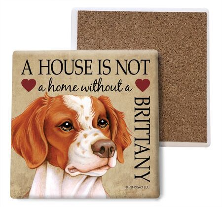 Brittany Absorbent Stone Coaster