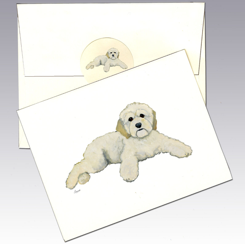 Cockapoo 8 Pack Notecards