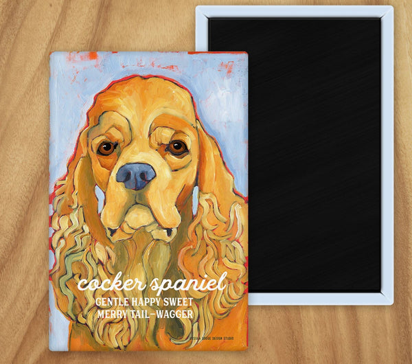 Cocker Spaniel 2 x 3 Fridge Magnet