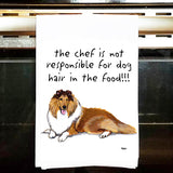 Collie Kitchen Tea Towel
