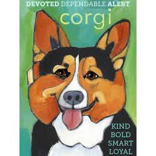 Cardigan Welsh Corgi 3 x 4 Sticker