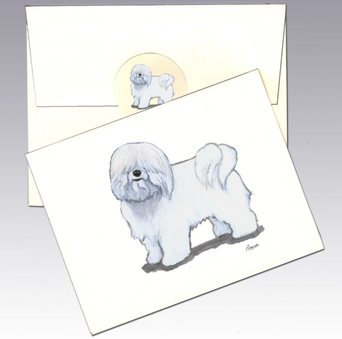Coton du Tulear 8 Pack Notecards