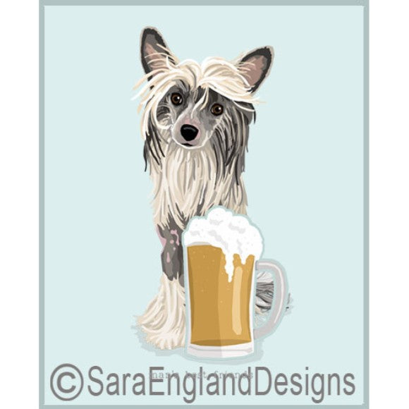 Chinese Crested Best Friends Prints