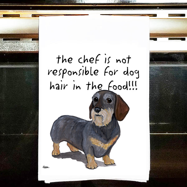 Dachshund Kitchen Tea Towel