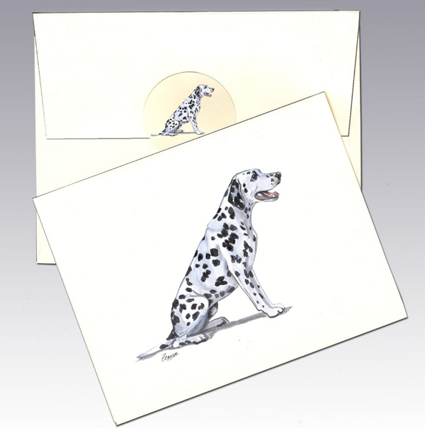 Dalmatian 8 Pack Notecards