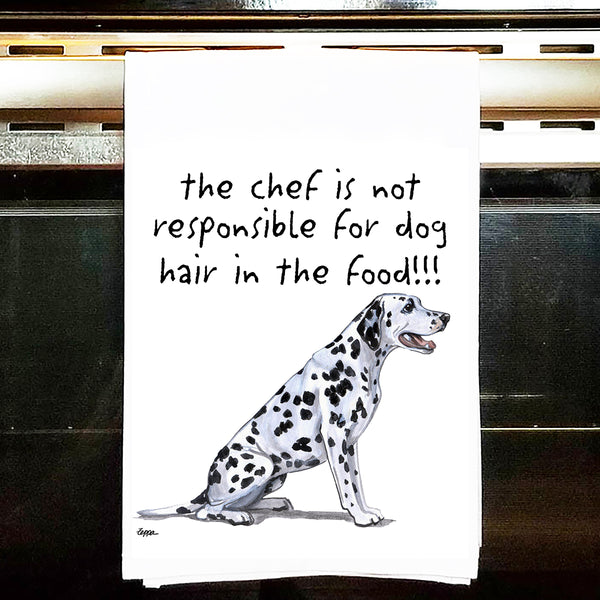 Dalmatian Kitchen Tea Towel