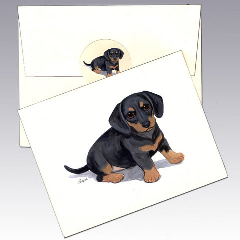 Dachshund 8 Pack Notecards