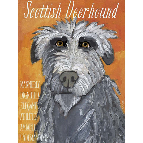 Scottish Deerhound 2 x 3 Fridge Magnet