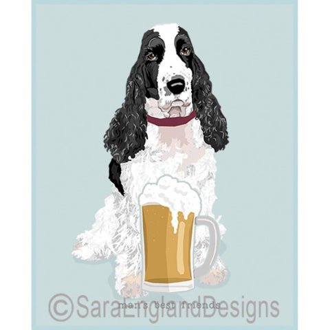 English Cocker Spaniel Best Friends Prints